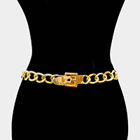 Buckle Metal Chain Belt