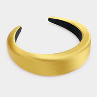 Padded Satin Headband