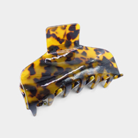 Square Celluloid Acetate Hair Claw Clip