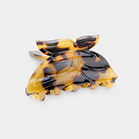 Butterfly Celluloid Acetate Mini Hair Claw Clip