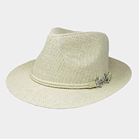 Anchor Rope Trim Fedora