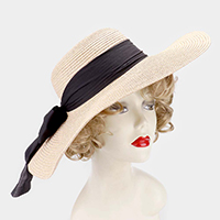 Wide Brim Bow Summer Sun Hat