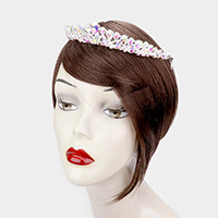 Pear Crystal Statement Rhinestone Princess Tiara