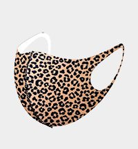 Fashion Leopard Print Mask