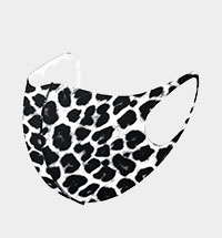 Fashion Leopard Pattern Print Mask
