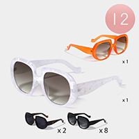 12PCS - Wayfarer Sunglasses