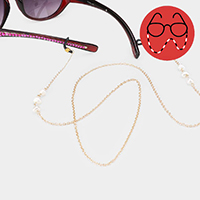 Freshwater Pearl Accented Glasses Chain