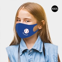 Baseball Point Reusable Kids Fashion Mask