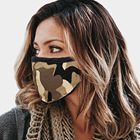 Camouflage Reusable 2 Layer Fashion Mask