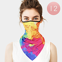 Breathable Earloop Neck Gaiter Face Cover
