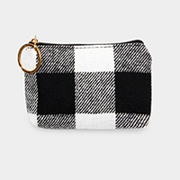 Buffalo Check Coin / Card Purse