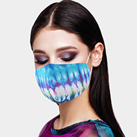 Tie Dye Print Cotton Fashion Mask