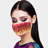 Abstract Print Cotton Fashion Mask