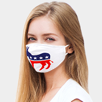 American Flag Donkey Fashion Mask