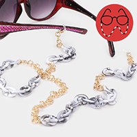 Celluloid Acetate Link Glasses Chain
