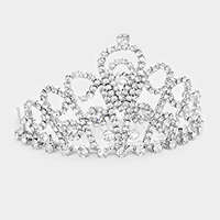 Rhinestone Princess Mini Tiara