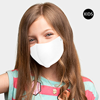 Solid Kids Fashion Mask
