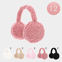 12PCS - Faux Fur Earmuffs