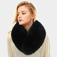 Fox Fur Infinity Scarf