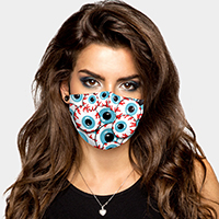 Eyes Print Cotton Fashion Mask