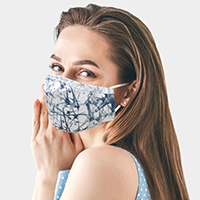 Abstract Print Fashion Mask