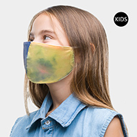Tie Dye Print Kids Fashion Mask