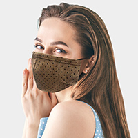 Polka Dot Print Fashion Mask