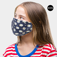 Sheep Print Kids Fashion Mask