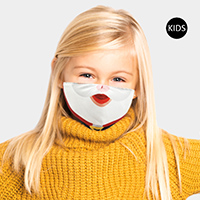 Santa Claus Mouth Print Kids Fashion Mask
