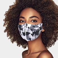 Camouflage Print Fashion Mask