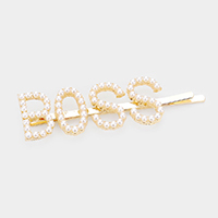 BOSS Pearl Hair Bobby Pin