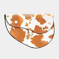 Cow Animal Pattern Crossbody / Belt Bag / Fanny Pack