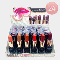 24PCS -  Beauty Waterproof Matte Lipsticks