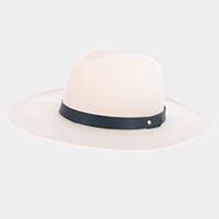 Wide Brim Fedora Rancher Hat