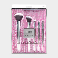 5PCS - Flawless Face and Eyes Brush Tool Set