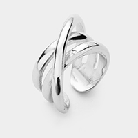 Abstract Metal Ring