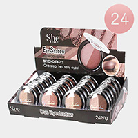24PCS - Duo Eye Shadows