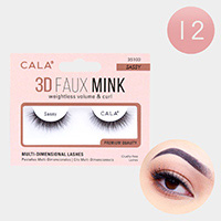 12Pairs - 3D Faux Mink Eye Lashes
