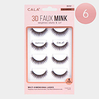 6Packs - 3D Faux Mink Eye Lashes