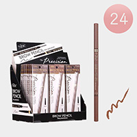 24PCS - Waterproof Long Lasting Brown Eyebrow Pencils