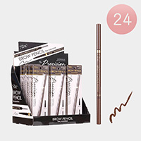 24PCS - Waterproof Long Lasting Dark Brwon Eyebrow Pencils