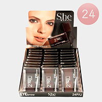 24PCS - Perfect Two Colors Eyebrows
