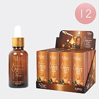 12PCS - Skin Enricher Argan Primer Oils