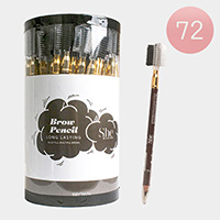 72PCS - Long Lasting Brown Pencil Eyebrows