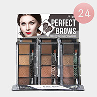24PCS - Perfect Four Colors Eyebrows