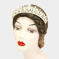 Marquise Stone Accented Princess Tiara