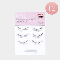12PACKS - Professional Eye Lashes