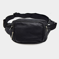Faux Leather Fanny Pack