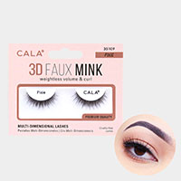 1Pair - 3D Faux Mink Eye Lashes