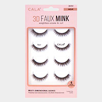 4Pairs - 3D Faux Mink Eye Lashes